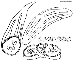 cucumber coloring pages coloring pages to download and print