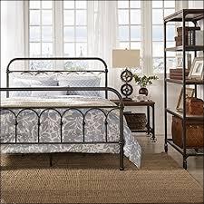 bedroom marvelous king metal bed frame headboard footboard