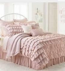 lc lauren conrad ella ruffle shabby twin xl chic blush pink