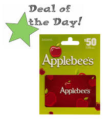 applebee s gift cards 50 applebee s gift card only 40 with promo code