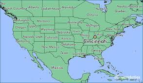 map usa showing wyoming where is cincinnati oh cincinnati ohio map worldatlas