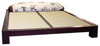 Tatami Platform Bed Frame Can You Use A Regular Mattress Or Is A Tatami Mat Required