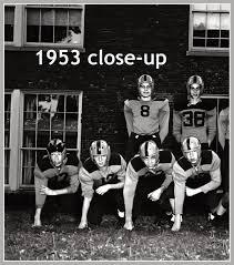 everythingcroton a look back at 1950 u0027s croton football