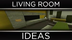 modern living room ideas minecraft project