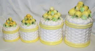 vintage kitchen canister sets decorating clear