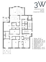 7 Bedroom Floor Plans Floor Plans U2014 445 Arlington