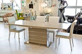 taupe matt finish extending dining table fw941 be fabulous