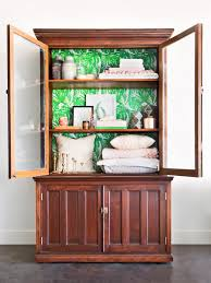 Restoring Old Kitchen Cabinets How To Refinish An Antique Bookcase Hgtv