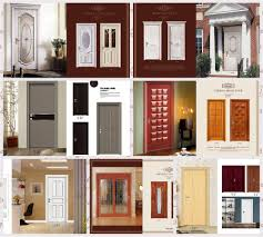 new designed flush door for room with painting interior doors