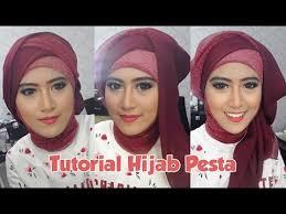 tutorial hijab paris ke pesta tutorial hijab pesta inivindy mengunakan pashmina glitter dan hijab