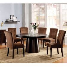 cleopatra double pedestal 7 piece round dining room sethomey with
