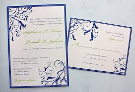 royal blue wedding invitations royal blue and ivory wedding invitations sunshinebizsolutions