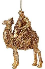 wise ornament gold ornate camel 4 1 2