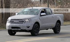lexus pickup truck 2016 2019 ford ranger spy photos u2013 news u2013 car and driver