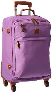 light luggage for international travel bric s x travel ultra light 21 inch spinner carry on luggage violet