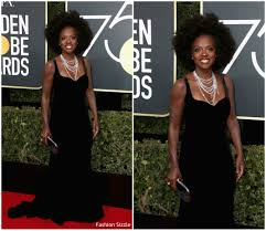 Fashion Sizzlers Archives Fashionsizzle by Viola Davis In Brandon Maxwell U2013 2018 Golden Globe Awards