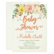 shabbychic invitations u0026 announcements zazzle