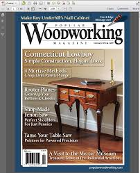 february digital issue u2013 read it free popular woodworking magazine
