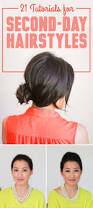 21 second day hairstyle tutorials