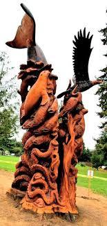 jms wood sculpture custom wood sculptures chainsaw artist