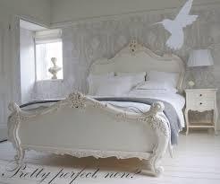 shabby chic bedroom wallpaper modern interior design inspiration