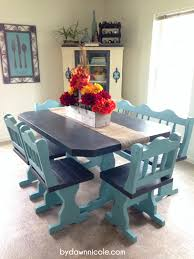 50 craigslist kitchen table makeover