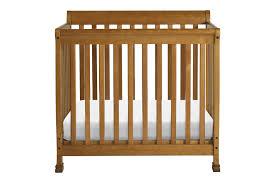 Kalani Mini Crib White Davinci Kalani Mini Crib Chestnut N Cribs