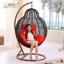 real natural rattan wicker living room swing hanging egg with