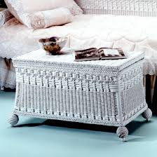 Wicker Trunk Coffee Table Furniture Mirrored Trunk Coffee Table White Storage Trunk