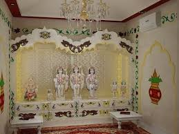 Home Temple Decoration Ideas 131 Best Pooja Room Images On Pinterest Puja Room Prayer Room