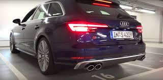 audi s4 exhaust 2017 audi s4 exhaust sound just average turbo pops and growls
