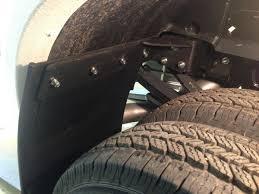3500 Dodge Truck Mud Flaps - truck hardware no drill mounting brackets truck hardware