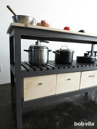 how to build a kitchen island bob vila