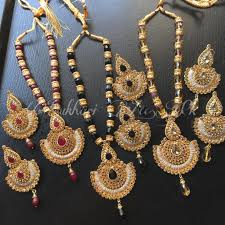 gold set in pakistan 18k two tone gold plated mala set price in pakistan m007548
