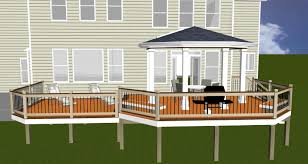 Patio Deck Covers Pictures by Covered Patio Deck Radnor Decoration