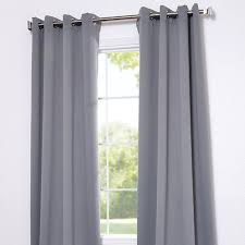 Neutral Curtains Decor Grommet Neutral Grey Designer Blackout Curtain Panel Affordable