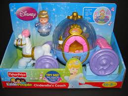 Cinderella S Coach New Little People Cinderella U0027s Coach Disney Princess Figure
