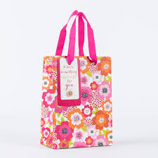 gift bags floral a something small gift bag only 79p