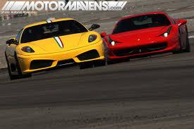 f430 vs lamborghini gallardo driver seat vs lambo at exotics racing motormavens