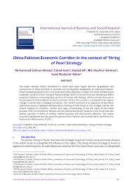 gmf assurances si e social china pakistan economic corridor in the context of string of