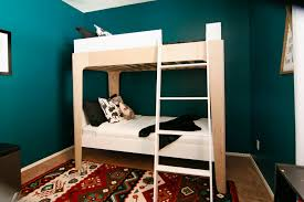 Building A Bunk Bed White Modern Bunk Beds Diy Projects