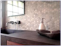 carrara marble hexagon tile backsplash tiles home decorating