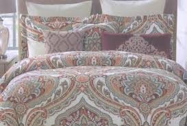 Nicole Miller Duvet New 3pc Nicole Miller Paisley Medallion Reversible King Duvet
