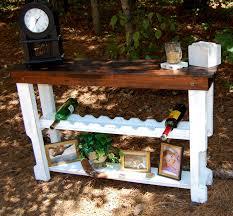 wine rack console table idea u2013 home design