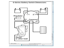 wiring a battery switch the hull truth boating and fishing forum