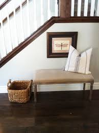 Upholstered Entryway Bench Tuscany Village Model Home Alice Lane