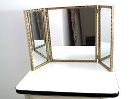 Tri Fold Bathroom Mirror by Tri Fold Wall Mirror Naura Homes