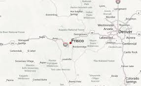 frisco map frisco colorado location guide