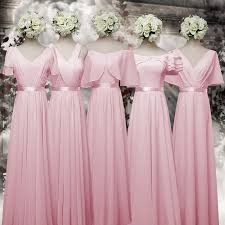 bridesmaid dresses pink and gold best gowns and dresses ideas