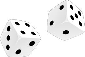 halloween clipart transparent background dice clipart two image 29047